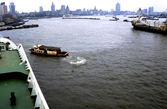 Ankunft in Shanghai 1991