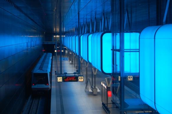 Hamburger Untergrund: Hafencity Universität
