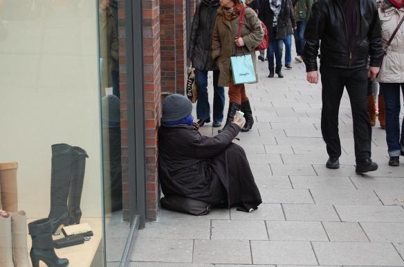 Betller: Roma Frauen in Hamburg