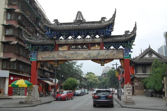 Beim Wenshu-Tempel
