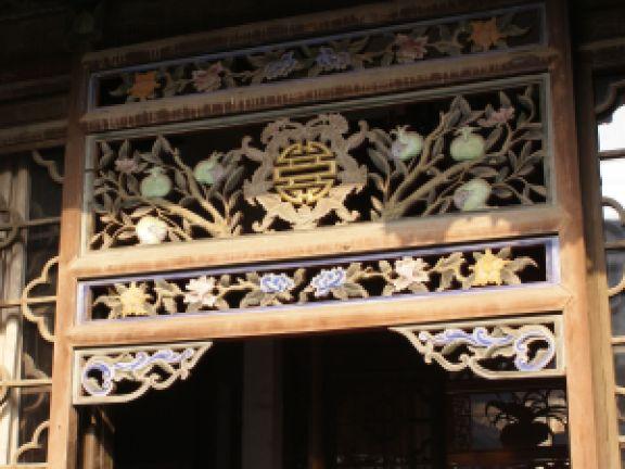 Aberglauben in China - vor allem in Türbereich
