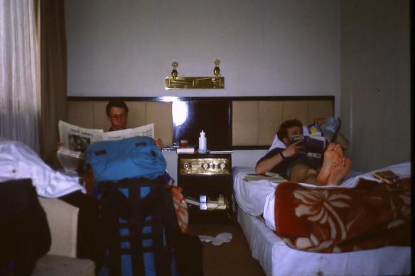 Gemütlich im Hotel