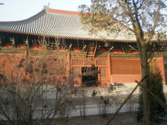 Datong 2009: Shanhua-Tempel Haupthalle