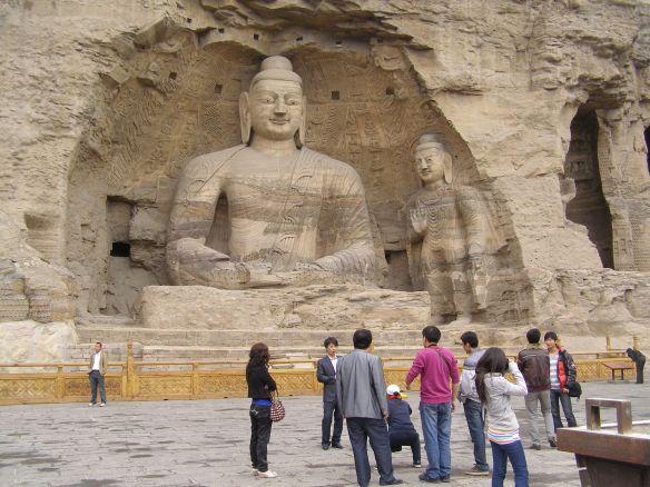 Die berühmten Tausend-Buddha-Grotten von Yungang