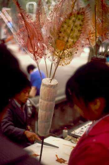 Chengdu 1987 - Ich bitte die schlechte Qualität des Scan zu entschuldigen. Sorry for the bad Quality.