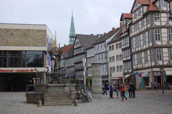 Hannovers Altstadt: Klein aber