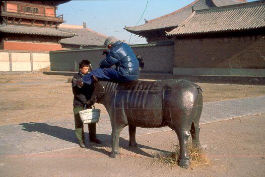 Die Ochsenstatue 1988