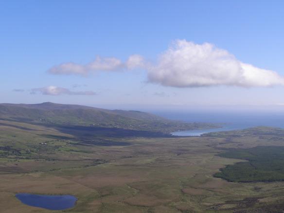 Die Bucht von Cloghane vom Connor Pass aus 2009