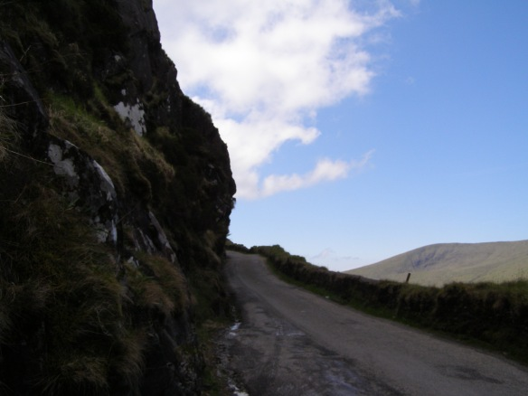 Die Straße zum Connor Pass 2009