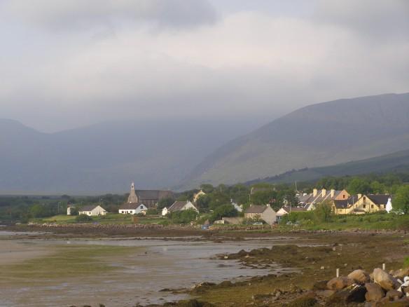 Der Connor Pass von Cloghane aus 2009