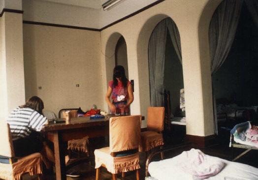 Im Schlafsaal des Pujiang Hotel, dem Hostel in Shanghai