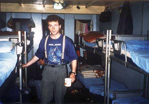 In unserer Kabine 1991