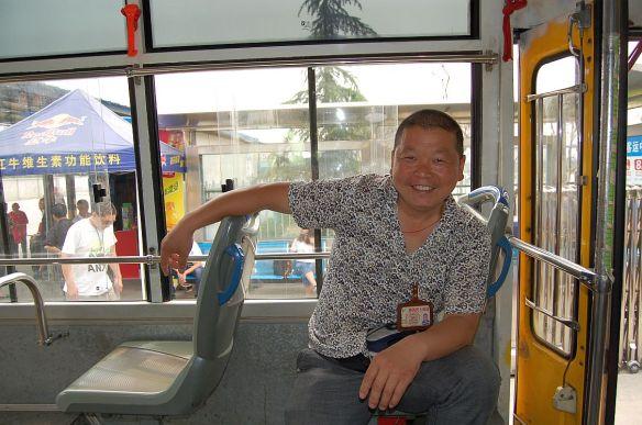 Schaffner auf dem Weg nach Sanxingdui