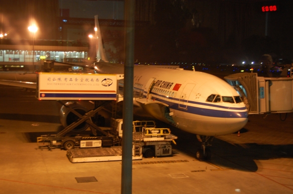 Air China in Chengdu