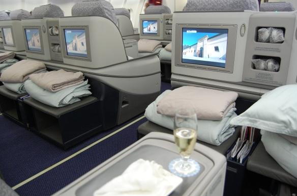 Business-Class von Chengdu nach Frankfurt