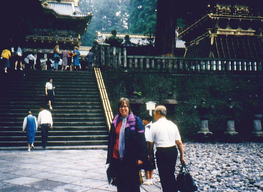 Ulrike in Nikko