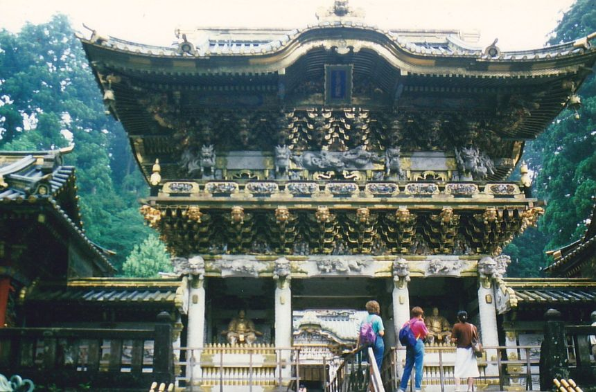 Das Tor Yomeimon des Toshogu-Schreins
