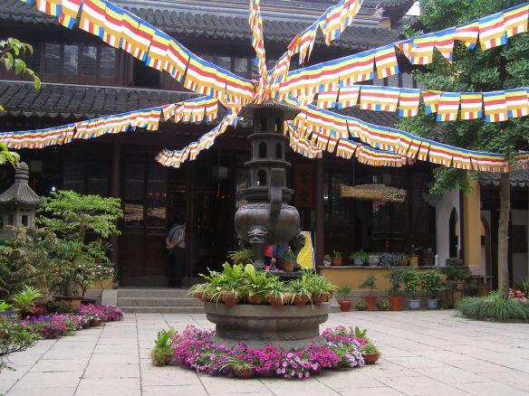 Nonnenkloster Chen Xiang Ge Innenhof