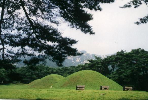 Königsgräber bei Kyongju Gyeongju