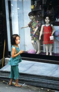 In den Straßen von Puyo - Buyeo