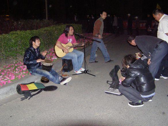 Musikanten am Vogelnest