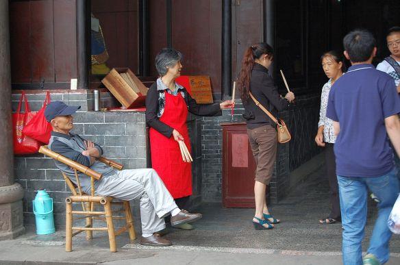Tempel in Chengdu