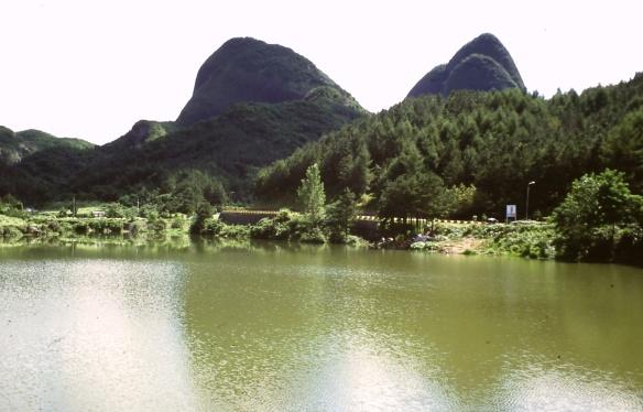 Der Pferdeohrenberg bei Chinan Jinan
