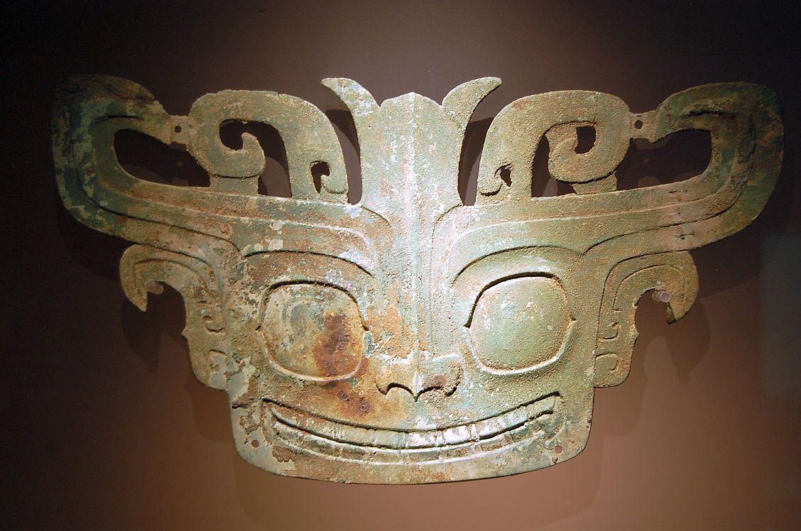 Sanxingdui: Faszinierende Gesichter der Bronzemasken.