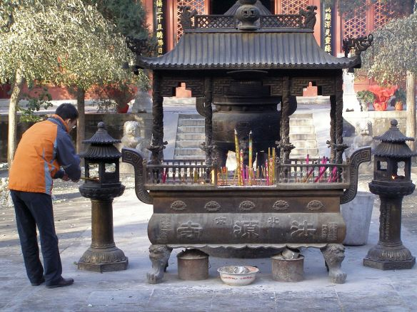 Der Fayuan Tempel in Peking