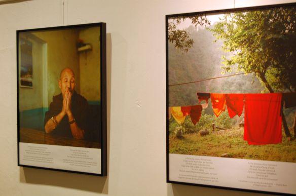 Fotos Ausstellung Tibetische Nonnen