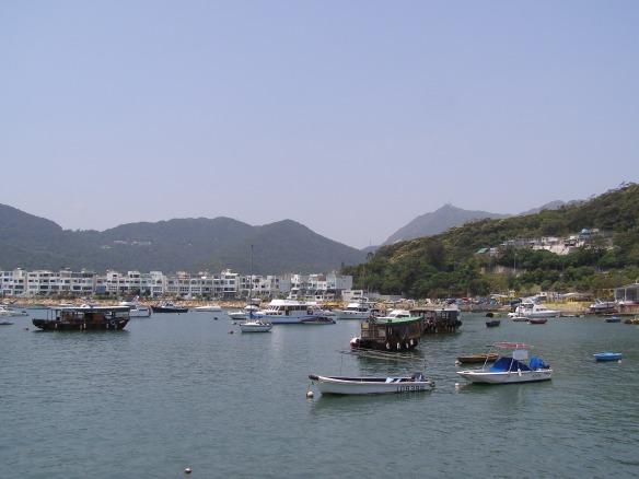 Der lebhafte Fischer- und Urlaubsort Sai Kung bei Hongkong
